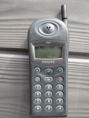 PHILIPS diga N488 mobile phone with phone zip up cover