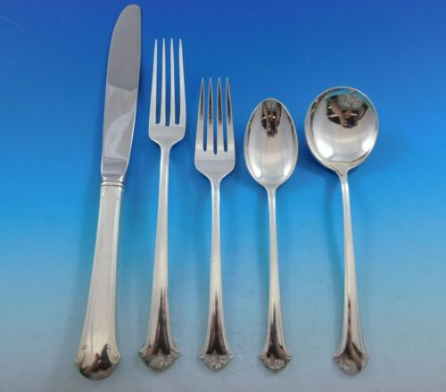 Chippendale by Towle Sterling Silver Flatware Set for 12 Service 60 pcs Dinner