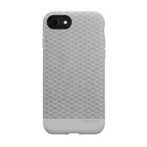 Incase iPhone 8/7 & SE 2nd Gen Textured Snap Rugged ShockProof Case Cover - Grey