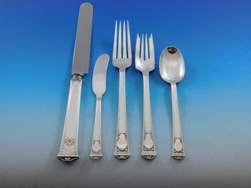San Lorenzo by Tiffany and Co Sterling Silver Flatware Service Set 40 pcs Dinner