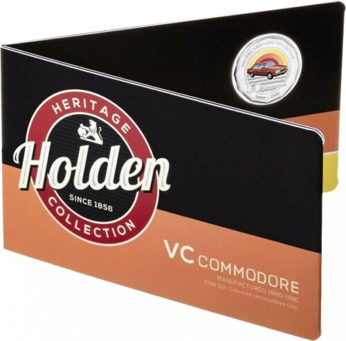 2016 50c Holden Heritage - VC  COMMODORE with card