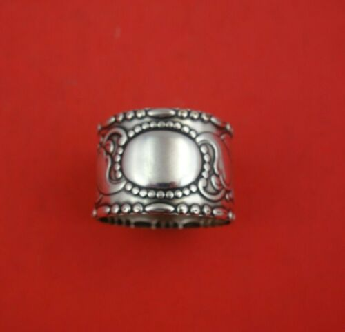 """Arts and Crafts by TB Danish .830 Silver Napkin Ring 1 3/4"""" x 1 1/4"""" 1.1 ozt."""