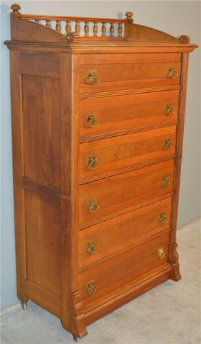 18911 Victorian Lock Side Chest in Ash