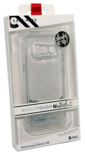 Samsung Galaxy S8 Case Cover Waterfall Tough case Mate Naked Glitter - NEW