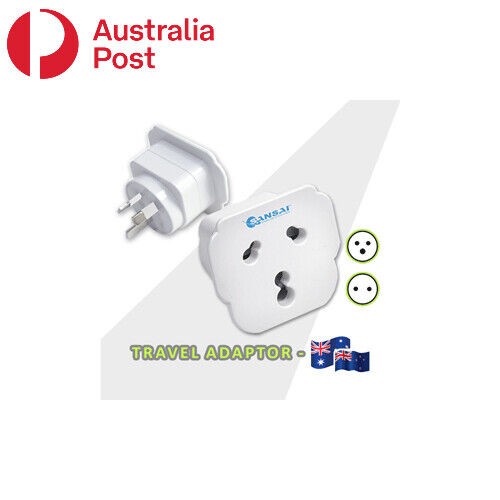 International Travel Adaptor from India and South Africa to Australia