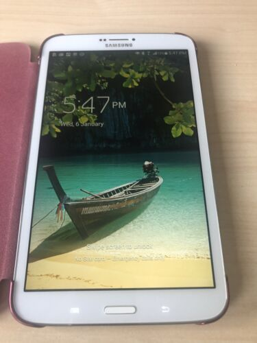 """Samsung Galaxy Tab 3 8.0"""" 16Gb T-315 WiFi And 4G LTE White Tablet"""