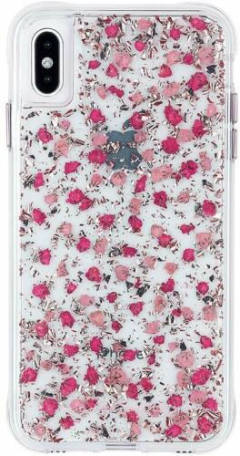 Apple iPhone XS Max Case-Mate Karat Petals Ditsy Flowers Protective Cover
