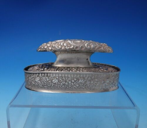 Cluny by Gorham Sterling Silver Nail Buffer and Stand #B12/#B10 (#4967)