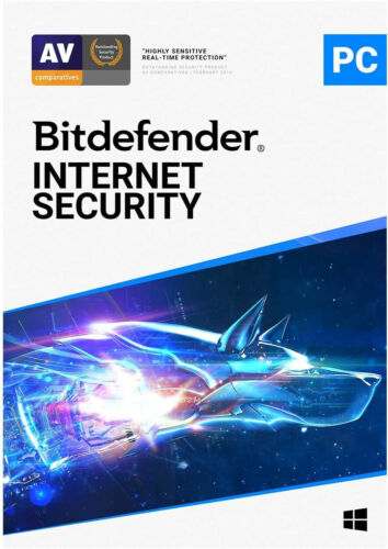 Bitdefender Internet Security 2021 | 1 PC 1 Year | Genuine Key by Email