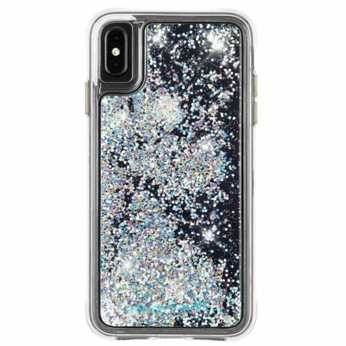 Apple iPhone XS Max Case-Mate Waterfall Iridescent Protective Cover - New