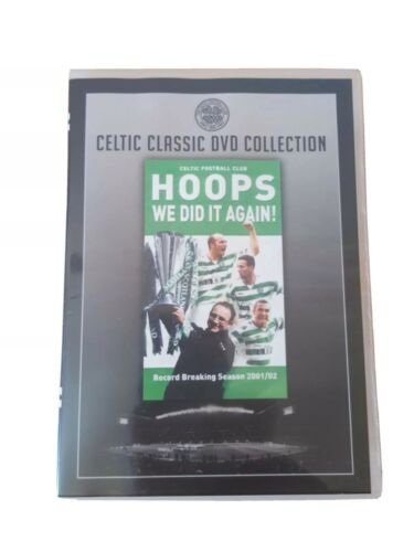 Hoops We Did It Again! Celtic FC Record Breaking Season 2001-02 Dvd Very Good