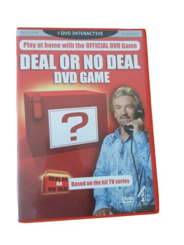 Deal or No Deal Interactive DVD Game Starring Noel Edmond No Manual Used V.Good