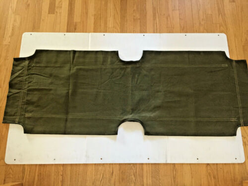 M1938 US ARMY KOREAN WAR ERA FOLDING COT REPLACEMENT CANVAS COVER (EXCEL COND.)Other Militaria - 135