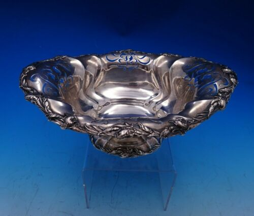 Les Cinq Fleurs by Reed and Barton Sterling Silver Fruit Bowl Oval #145 (#4668)