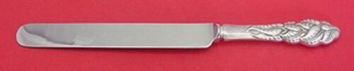 """Ailanthus by Tiffany and Co Sterling Silver Dinner Knife Blunt 9 3/4"""" Flatware"""
