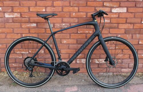 Specialized Sirrus Expert Carbon Fitness/City Road Bike- Future Shock - Disc 105 <br/> NO RESERVE AUCTION! Lightweight, Sleek, Disc Brakes!!