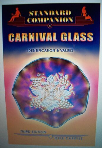 NEW CARNIVAL GLASS $$$ PRICE GUIDE Collector's BOOK Color Picture's 288 page