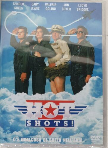 HOT SHOTS !DVD CHARLINE SHEEN,CARY ELWES NUOVO SIGILLATO