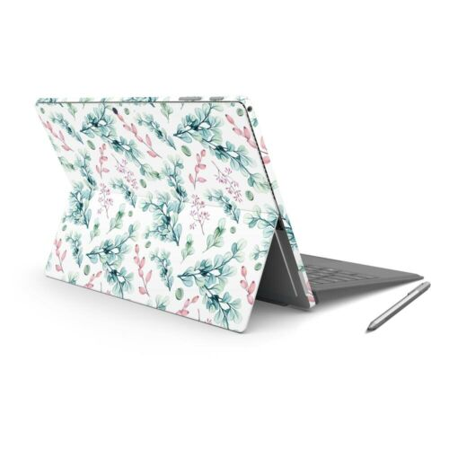 Berry Leaf Skin Sticker Wrap to Cover Surface Pro 7 Back + Sides Australian Made