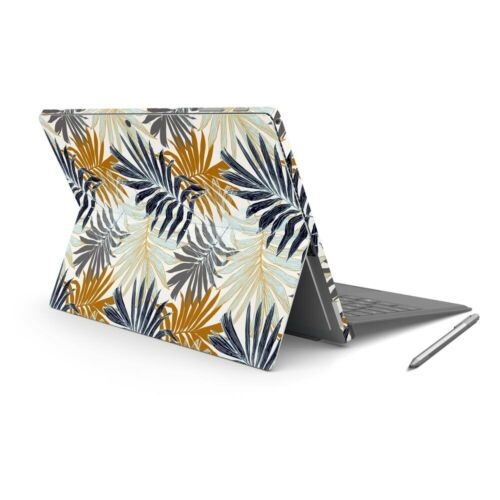 Retro Palm Skin Sticker Wrap to Cover Surface Pro 7 Back + Sides Australian Made