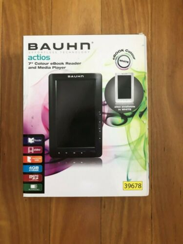 "Bauhn actios 7"" Colour eBook Reader and Media Player"