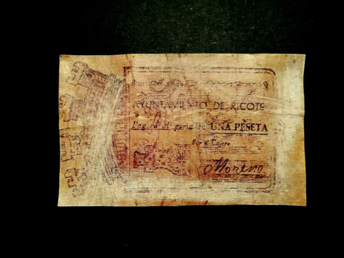 BILLETE LOCAL 1 PTA AYUNTAMIENTO DE RICOTE  MURCIA