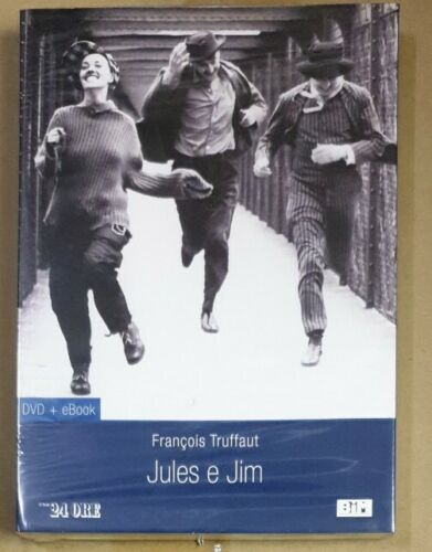JULES E JIM DVD BY FANÇOIS TRUFFAUT (DVD+EBOOK)NEW