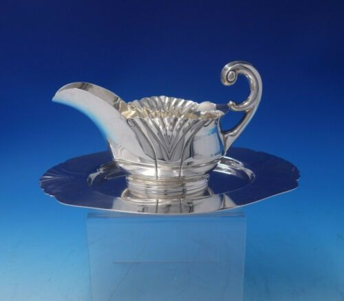 Onslow by Tuttle Sterling Silver Gravy Boat with Underplate #1835 (#5071)