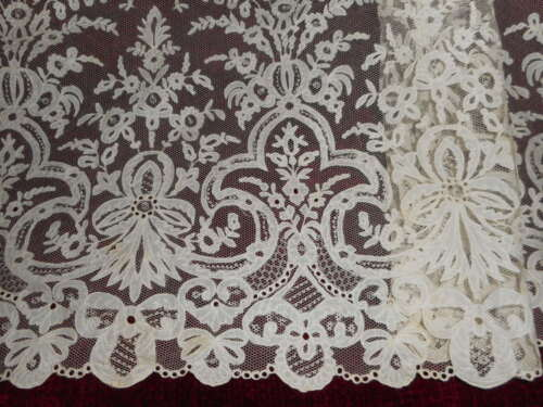 Outstanding antique lace.