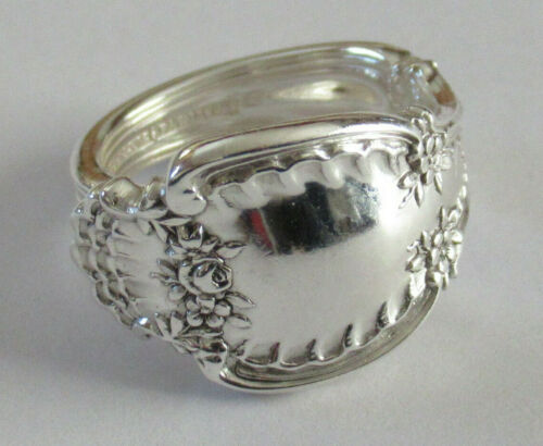 Sterling Silver Spoon Ring - Tiffany / Richelieu - 1892 - FREE 1 DAY SHIPPING
