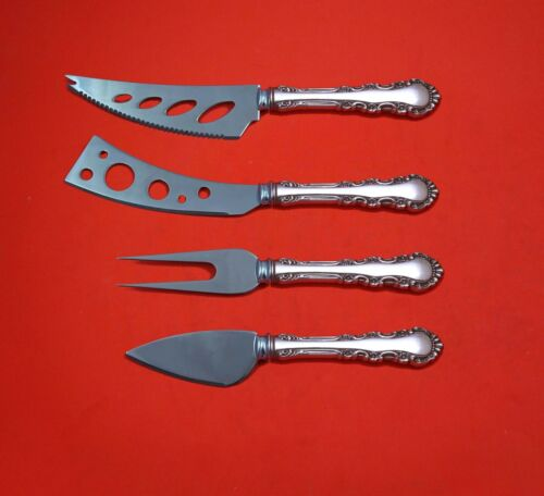 Georgian Rose by Reed and Barton Sterling Silver Deluxe Charcuterie Set Custom