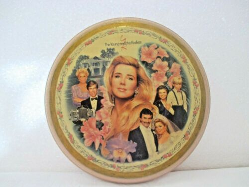THE YOUNG & THE RESTLESS WOODEN WALL PLAQUE COPY OF NIKKI'S WORLD CRESTLEY PLATE