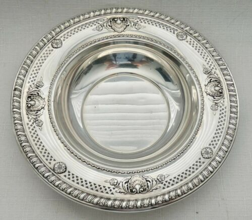 """Wallace Sterling Silver Sir Christopher Pattern Decorative Small Bowl 6 1/4"""""""