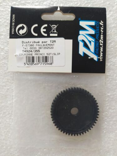 T2M T4924/355 Spur Gear 52T Slipper for T2M Pirate Furious XL 1/10 NEW