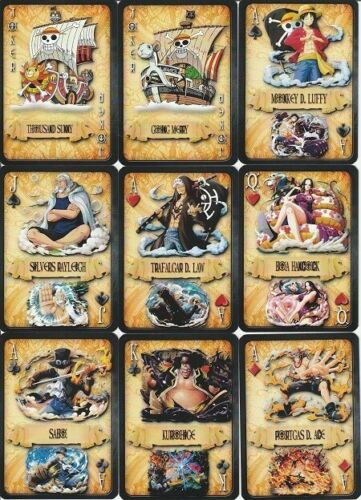 BARAJA POKER, PLAYING CARDS DECK, ONE PIECE