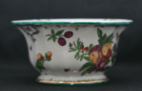 Beautiful Antique European Hand Painted Porcelain Comport Bowl Gilded Hallmarked