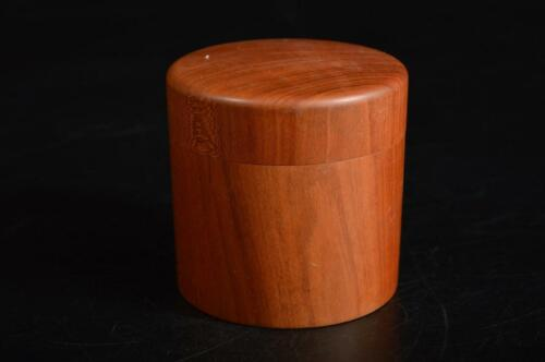 U612: Japanese Wooden TEA CADDY Natsume Chaire Container Tea Ceremony