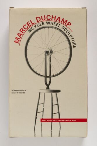 Marcel Duchamp Bicycle Wheel Sculpture limited edition working replica exclusive <br/> Philadelphia Museum of Art Replica Bicycle Wheel Sculpt