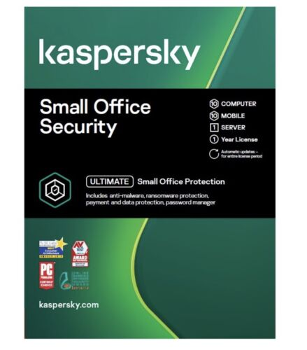 Kaspersky Total Security License 10 Device 1 Year -  Key is E-Mailed