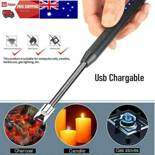 Lighter ARC BBQ Kitchen Windproof Portable Kitchen Candle Rechargeable