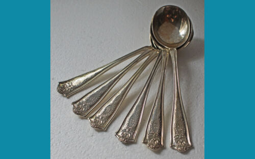 ONE sterling GUMBO SPOON in WINTHROP pattern 1909y by TIFFANY mono S 10 availabl