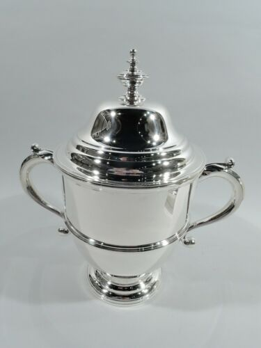 Currier & Roby Trophy Cup - Antique Covered Urn - American Sterling Silver