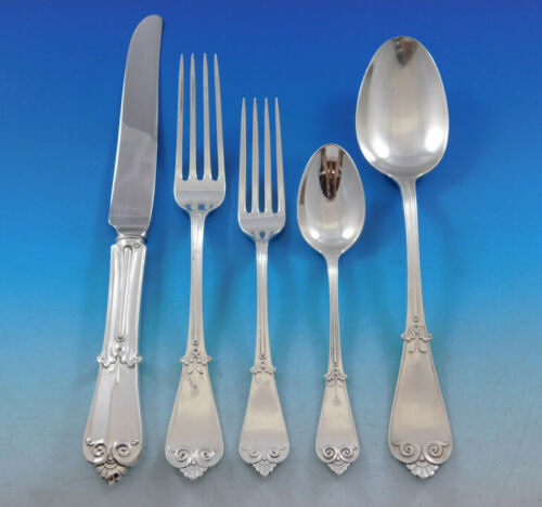Beekman by Tiffany Co Sterling Silver Flatware Set for 12 Service 61 pcs Dinner