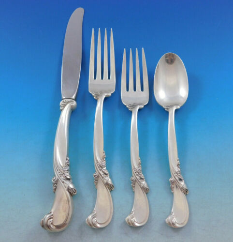 Waltz of Spring by Wallace Sterling Silver Flatware Set for 12 Service 48 Pieces