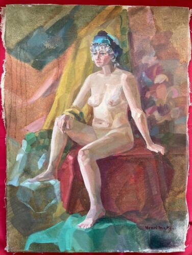HENRI MATISSE - OIL ON ORIGINAL CANVAS FROM THE 20s
