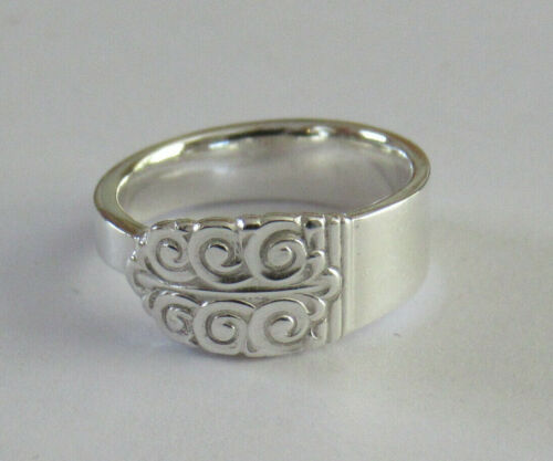 Sterling Silver Spoon Ring - International / Northern Lights - size 8 1/2 - 1946