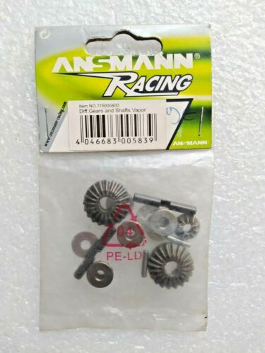 Ansmann Racing 115000400 Differential Gears and Shafts Vapor