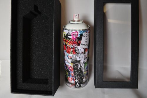 Mr Brainwash - Spray Can - Love is The Answer - White Edition - Limited to 125
