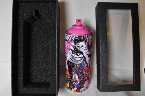 Mr Brainwash - Spray Can - Smile Full - Pink Edition - Limited to 200