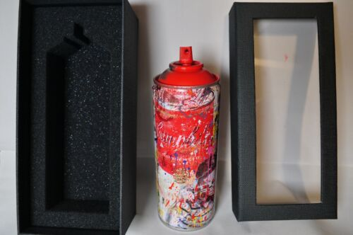 Mr Brainwash - Spray Can - Smile Portrait - Red Edition - Limited to 150